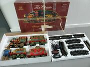 New Bright Holiday Sleigh Bell Express Animated Christmas Train Set 382