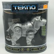 Tekno The Robotic Puppy 2000 Manley Voice Activated Toy Quest New In Open Box