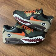 Nike Air Max 90 Premium Size 13 Warhawk Armed Forces Parra 2007 Rare Wearable