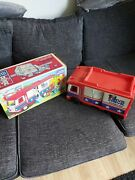 70's Vintage Evel Knievel Scramble Van By Ideal Toys  Boxed