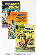 Magnus Robot Fighter Group Of 38 Gold Key, 1963-76 Contains 2 Vg