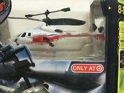 Air Hogs Bell 222 Helicopter Target Exclusive New In Box Rc Red Indoor Remote