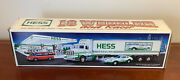1992 Hess Truck 18 Wheeler And Racer Car New In Box