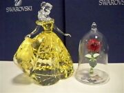 Belle And Enchanted Rose From Disney Film Beauty And The Beast Bnib