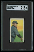 Sharp T206 Cy Young Piedmont Cigarettes Tobacco Card Sgc 2.5 Baseball Card