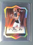 2016 Panini Select Tyler Boyd Auto Rookie Die Cut Prizm Bengals Rc Sp Only /99