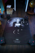 Cannes Film Festival 2012 Marilyn Monroe 4x6 Ft French Movie Poster Original