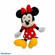 """Minnie Mouse Plush Doll Toy Disney Kohls Cares Characters Stuffed Animal Toy 14"""""""