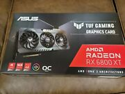 Asus Tuf Gaming Amd Radeon Rx 6800 Xt Oc Edition - Brand New And Sealed