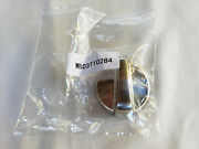 Ge Range/ Stove/ Oven Control Knob Chrome / Stainless Steel Look Wb03t10284