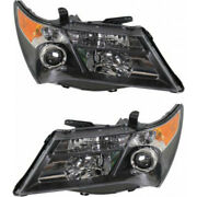 For Acura Mdx Headlight 2007 2008 2009 Lh And Rh Pair/set Hid Ac2518111