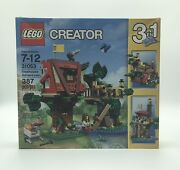 Lego Creator 3-in-1 Treehouse Adventures 31053 New And Factory Sealed Retired