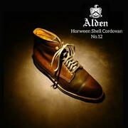 Alden Authentic Cordovan Dress Shoes Mocha Us 8.5 Used From Japan