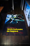 2001 A Space Odyssey A 4x6 Ft French Grande Movie Poster 1968 Rerelease 1980's
