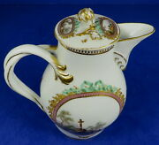 18th Century German Meissen Marcolini Period Porcelain Teapot And Cover 2
