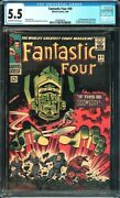 Fantastic Four 49 Cgc 5.5 1st Full Appearance Of Galactuskey Issuel@@k