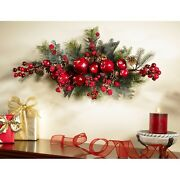 Christmas Decorations Xmas Garland Mantle Dining Room Table Decor Indoor Outdoor