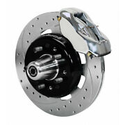 Wilwood For Chevy 1955-1957 Brake Kit Forged Dynalite Front 12.19inches Drilled