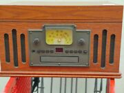Crosley Cr704d-pa Deluxe Musician Record Player And Cassette Cd Am/fm