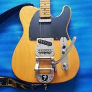 The Strongest In Fender Japan Tl52-btx Gen With Noiseless Equipped Bigsby _7547