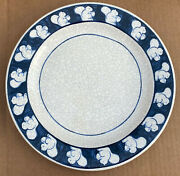 Dedham Pottery By Potting Shed Squirrel 11 Hand Painted Dinner Plate Super Rare
