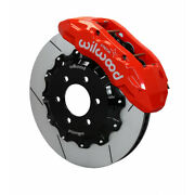 Wilwood For Ford F-150 2010 Tx6r Brake Kit - Front 15.50in Red 6-lug