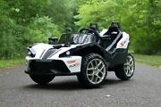 First Drive Slingshot - 2 Seater - Electric Motor Power Ride On 12v Kids Cars