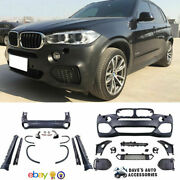 Aftermarket 14-18 Bmw X5 F15 Full M-package Body Kit M Sport Package Bumpers