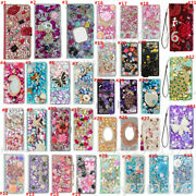 For Zte Blade Vantage 2 Phone Case Bling Luxury Leather Stand Wallet Cover