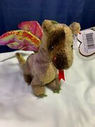 Beanie Babies - Ty Scorch The Dragon Super Rare Amazing Condition