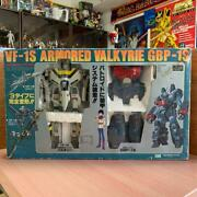Used Takatoku Toys 1/55 Battroid Armored Valkyrie Vf 1s Captains Machine