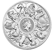 In Stock The Queen's Beasts 2021 Kilo Silver Bullion Coin Sold Out At Mint