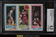 1980 Topps Basketball Larry Bird And Magic Johnson Rookie Rc Bvg 6.5 Exmt+