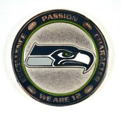 Rare Seattle Seahawks We Are 12 Coin Us Army Air Force Marines Etc