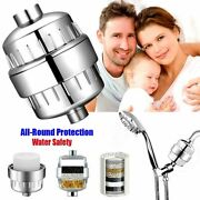 1set Water Shower Filter Removes Chlorine Heavy Metals Head Soften For Hard Hold
