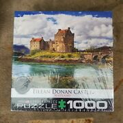 Eurographics Eilean Donan Castle Scotland 1000 Piece Puzzle Made In Usa Sealed