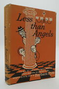 Less Than Angels Barbara Pym 1957 First American Edition First Printing