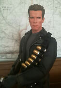 T 800 Terminator Cyborg Premium Format 1/4 Scale Exclusive Sideshow Collectables