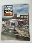 Walthers 2011 N And Z Model Railroad Reference Book, Color Photos Buildings Train