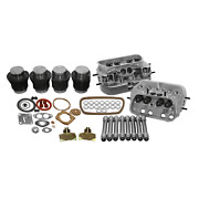 Vw 1600 Dual Port Top End Rebuild Kit 88mm Thick-wall Cylinder Stock Heads