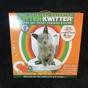 Litter Kwitter 3 Step Cat Toilet Training System Teach Cat How To Includes Dvd