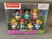 New Fisher Price Little People Disney Princess Gift Set 7 Figures
