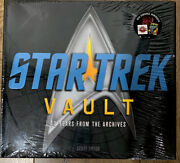 Star Trek Vault 40 Years From The Archives Hardcover Book Factory Sealed New