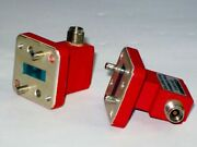 Cobham Double Ridge Waveguide Wrd180 Adapter To 2.92mm K Type 18-40ghz