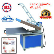31in X 39in Large Format Manual Operation Textile Thermo Heat Press Machine 220v