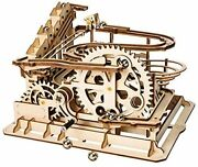 Ferimore 3d Puzzle Machine Model Diy Assembly Rotating Device Metal Sphere Wood