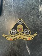 Maryland Md Nrp Natural Resources Police Iron On Patch Badge Rare 140 Years 2008