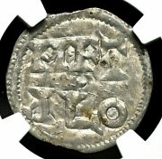Carolingians. Charles The Simple. King Of West Francia, 898-922, Ngc Xf Details