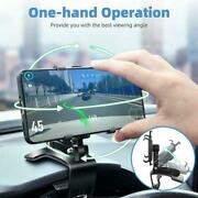 Car Dashboard Mount Cradle Holder Stand For Mobile Cell Phone Gps Accessories Us