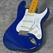 Fender Made In Japan Traditional 58 Stratocaster Sapphire Blue Trans Ggcmr